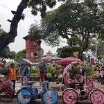 马六甲红场荷兰广场照片