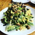 Vegan Caesar Salad, so creamy and yummy!!!