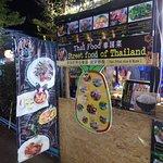 Outer advertising for Colour bar garden