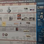 infographic about mining in bangka