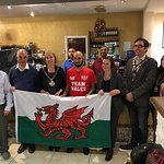A visit from Llanelli member of parliament Nia Grffithes and various members of the council wish