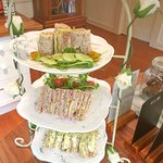 High Tea - vegan and vegetarian options available
