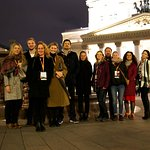 Our group infront of the Bolshoi.