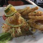 Calamares fritos, excelentes!