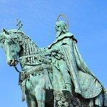 Foto van Statue of St Stephen