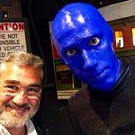 Foto van Blue Man Group