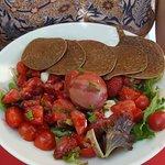Salade aux fraises