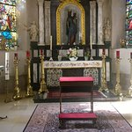 side altar # 3 with the Black Madonna