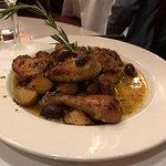 Chicken Rosemarie - a menu staple and wonderful.