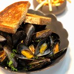 Mussels & Fries for lunch