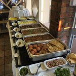 Curry Buffet only R95! Very tasty and incredible value. THANK YOU Sebastian & team 😊