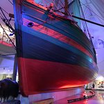 The Gjøa ship which traversed the Northwest Passage 1904-06