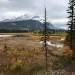 Vermilion Lakes from the Cave and Basin 1
