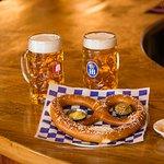 Pretzel & beer