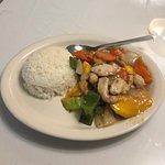 Mango Chicken With Rice