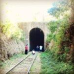 O Túnel faz divisa entre as cidades de Passa Quatro e Cruzeiro