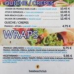 Food menu 1
