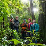 Conservation talk with knowledgeable guides