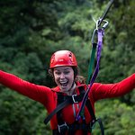 Fun on the zipline - Original Canopy Tour