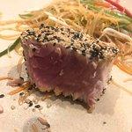 blue fin tuna steak