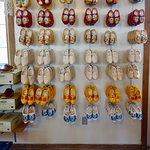 Wanna buy some wooden shoes?