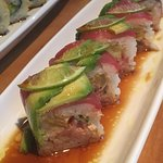 Maguro lime roll