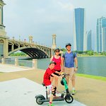 City Guided Tour in Putrajaya (30mins from Kuala Lumpur, Malaysia). Ride an electric scooter