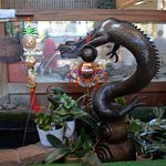 Sea Serpent Water Fountain