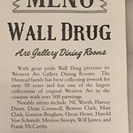 Wall Drug Store Cafe Foto