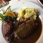 Beef Roulade with Sauerkraut - Delish!