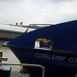 OUTSIDE VIEW OF COTAI JET