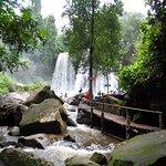Bottom of Kulen Mountain Waterfall