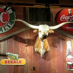 A restaurant with a fab American theme - Saltgrass Steakhouse (04/Oct/18).