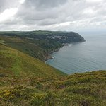 Overlooking Lynmouth
