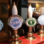Just some of favourite real ales served