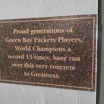 Foto van Green Bay Packer Hall of Fame