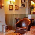 Snug area in our bar, Fox & Hounds , Funtington