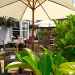 Front terrace at Fox & Hounds Funtington