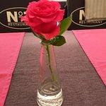 Rose on terras