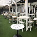 Our newly renovated Beach Deck