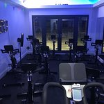 Our amazing spinning studio with top of the range bikes...