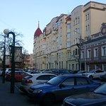 историческая улица Коммуны (рядом с Кировкой, пересекает ее)