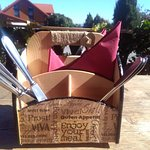 die Liebe zum Detail - liebevoll gestaltete Besteckboxen im Hampis