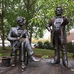 Foto de Lincoln Douglas Debate Square