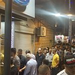 Line in the alley at Habibah