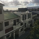 View of More Quarters apartments, Nicol Street, Cape Town