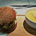 Sopa y Sandwich