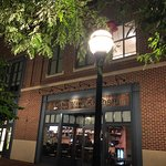 Front of The Wine Kitchen along the Carroll Creek Promonade