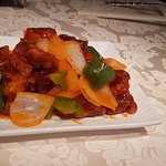 Boring sweet and sour pork