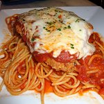 Chicken Parmigiana with Pasta